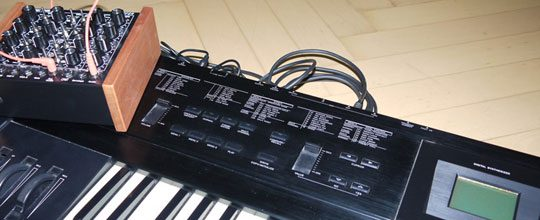 Casio VZ1 and Doepfer Dark Energy